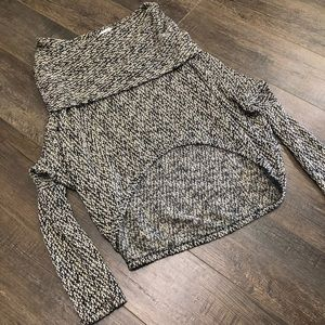 Neutral Sweater, Knit Top, Long Sleeved Top
